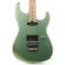 Charvel Custom Shop San Dimas HS Emerald Green Flake 2020 NAMM Display