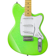 Ibanez Yvette Young Signature YY10 Slime Green Sparkle