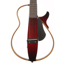 Yamaha Silent Guitar SLG200S Steel String Crimson Red Burst