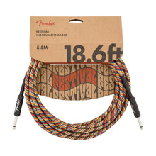 Fender Festival Instrument Cable Rainbow 18.6 Feet