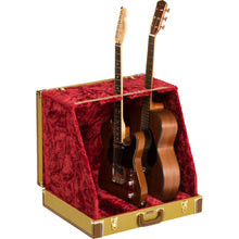 Fender Classic Series Case Stand - 3 Guitar Tweed