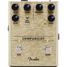 Fender Compugilist Compressor/Distortion Effect Pedal