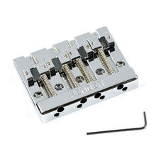 Fender HiMass 4-String Bass Bridge Assembly With Zinc Saddles