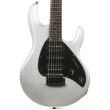 Ernie Ball Music Man Silhouette HSH Music Zoo 25th Anniversary Silver Sparkle