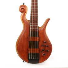 Hilton 5-String Scroll Bass