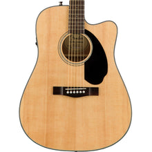 Fender CD-60SCE Dreadnought Acoustic-Electric Natural