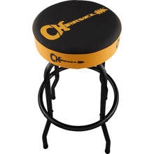 Charvel Guitar Logo Barstool Black/Yellow 30""