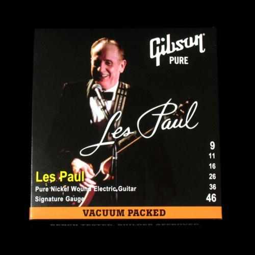 Gibson Les Paul Nickel Wound Electric Strings (Signature Gauge 9-46)
