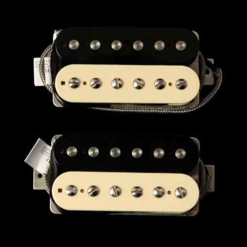 Lindy Fralin Pure PAF Humbucker Pickup Set (Zebra) 5162