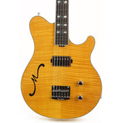 Ernie Ball Music Man BFR Axis Semi-Hollow Buttery Blonde