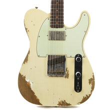 Fender Custom Shop 1960 Telecaster Custom Super Faded Aged Olympic White NAMM 2017 Display