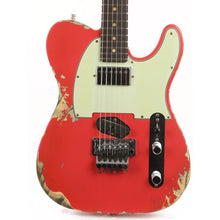 Fender Custom Shop ZF Telecaster Fiesta Red Heavy Relic Music Zoo Exclusive