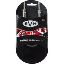 EVH Premium Guitar Cable 1 Foot Straight to Straight