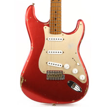 Fender Custom Shop '55 Roasted Dual-Mag Stratocaster Faded Candy Apple Red