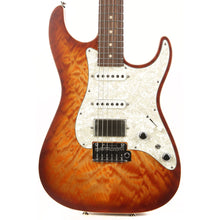 Tom Anderson Drop Top Classic Satin Natural Orange Burst with Binding