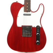 Fender Custom Shop 1963 Telecaster Mahogany Body Journeyman Relic Crimson Transparent