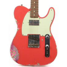 Fender Custom Shop Limited Edition '60s HS Telecaster Fiesta Red over Pink Paisley 2016