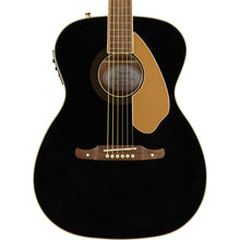Fender Tim Armstrong 10th Anniversary Hellcat Acoustic-Electric Black Used Top-Crack As Is