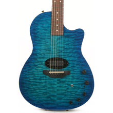 Tom Anderson Crowdster Plus Acoustic-Electric Bora Bora to Trans Blue Burst 2008