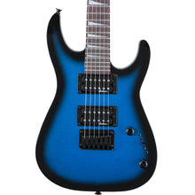 Jackson JS Series Minion Dinky JS1X Metallic Blue Burst