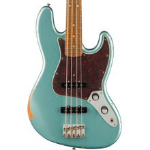 Fender 60th Anniversary Roadworn '60s Jazz Bass Firemist Silver