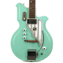 1960s National Newport 84 Res-O-Glass MAP Guitar Seafoam Green John Entwistle Collection