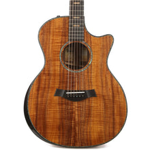 Taylor Custom Shop K24ce AA-Grade Hawaiian Koa and Figured Mahogany Neck Acoustic-Electric