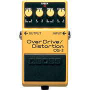 Boss OS-2 Overdrive Distortion Effect Pedal