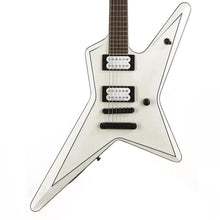 Jackson USA Signature Gus G. Star Satin White with Black Pinstripes