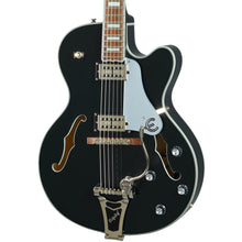 Epiphone Emperor Swingster Hollowbody Black Aged Gloss