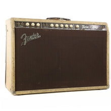 1961 Fender Twin Combo Amplifier Blonde