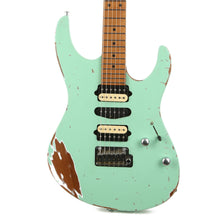 Suhr Modern Antique Roasted Surf Green Extra Heavy Aging 2019