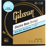 Gibson Brite Wire Electric Bass Strings 5-String Long Scale 45-130