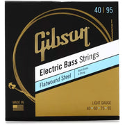 Gibson Flatwound Electric Bass Strings Short Scale 40-95