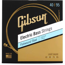 Gibson Flatwound Electric Bass Strings Long Scale 40-95