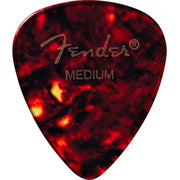 Fender 451 Shape Classic Celluloid Picks Medium 12-Pack Shell
