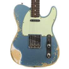 Fender Custom Shop 1963 Telecaster Heavy Relic Super Faded Aged Lake Placid Blue 2018