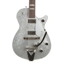 Gretsch G6129T-89VS Vintage Select '89 Sparkle Jet with Bigsby Rosewood Fingerboard Silver Sparkle