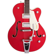 Gretsch G5410T Limited Edition Electromatic Tri-Five Hollow Body Single-Cut with Bigsby Rosewood Fingerboard Two-Tone Fiesta Red/Vintage White