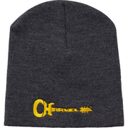 Charvel Guitar Logo Beanie Gray and Yellow