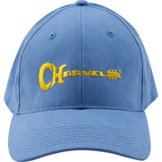 Charvel 3D Logo Hat Blue and Yellow