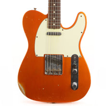 Fender Custom Shop 1963 Telecaster Relic Faded Candy Tangerine 2013