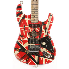 EVH Frankenstein Replica Limited Edition Red, White and Black Stripes