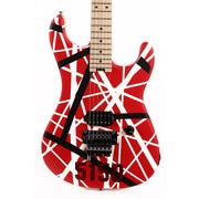 EVH Striped Series 5150 Striped Red Black and White Used