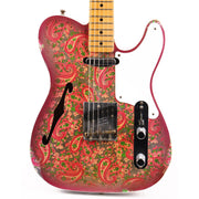 Fender Custom Shop Limited Edition Double Esquire Thinline Custom Relic Aged Pink Paisley 2020