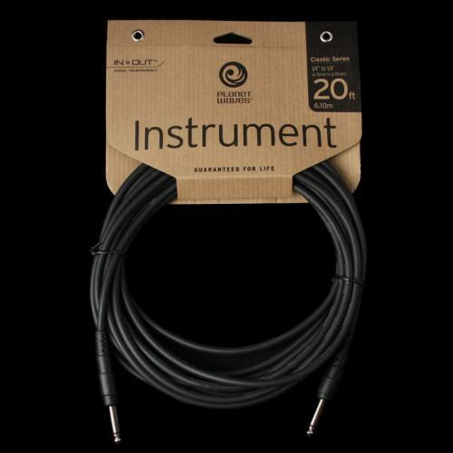 Planet Waves Classic Series Instrument Cable (20 Foot) PW-CGT-20