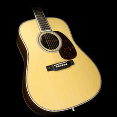 Martin D-42 Dreadnought East Indian Rosewood Acoustic Guitar Natural