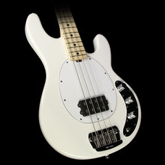 Ernie Ball Music Man StingRay Electric Bass Guitar w/ Matching Headstock White