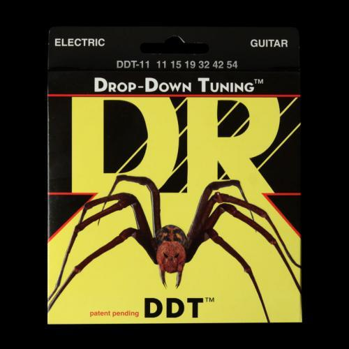DR DDT Drop-Down Tuning Electric Strings (Extra Heavy 11-54) DDT-11