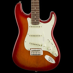 Squier by Fender Standard Stratocaster Electric Guitar Cherry Sunburst